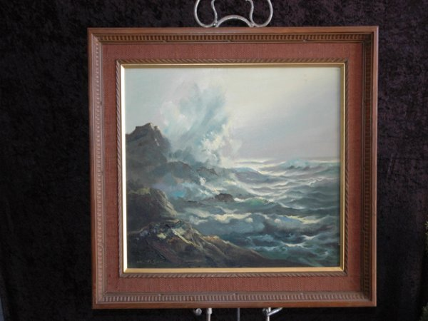 21: Japanese Oil Painting, by T.T. Shii