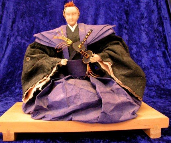 4: Japanese Asian Samurai Figure, Noble Samurai Edo