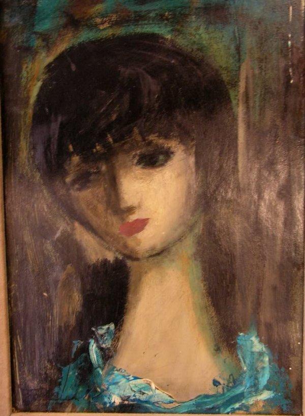 15: Original Oil Painting  French Artist L. Ferrer