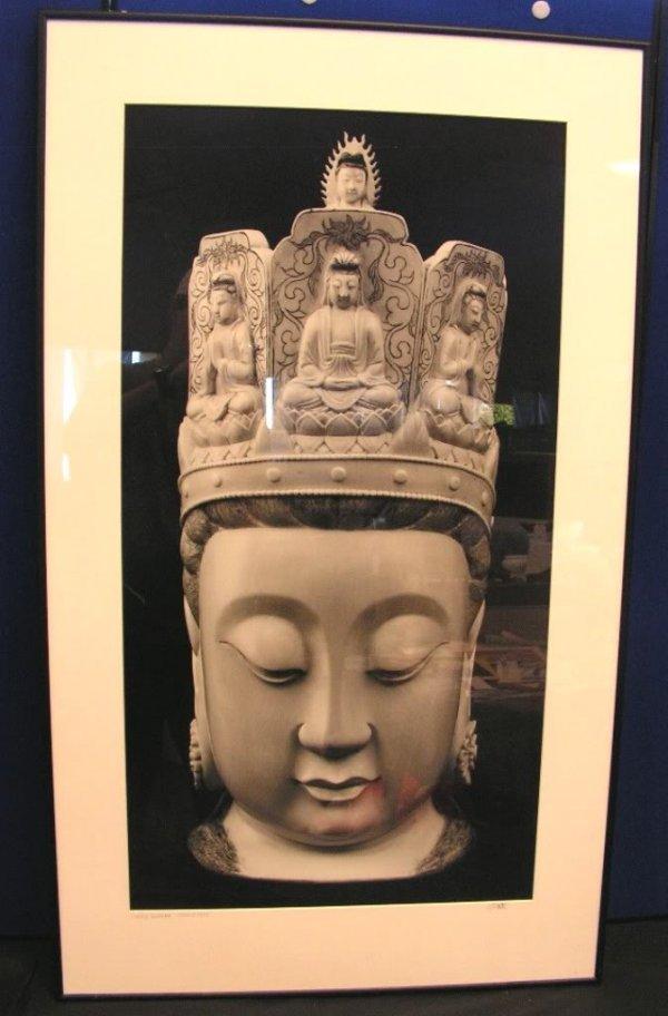27: Large Photograph of Buddha Statue