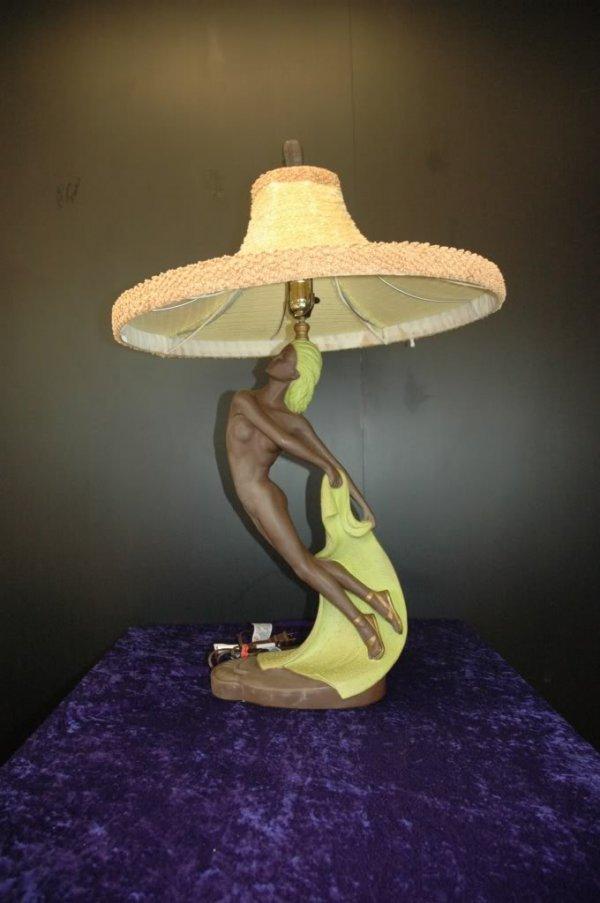 36: Art Deco Ceramic Continental Nude Table Lamps 1952 - 4