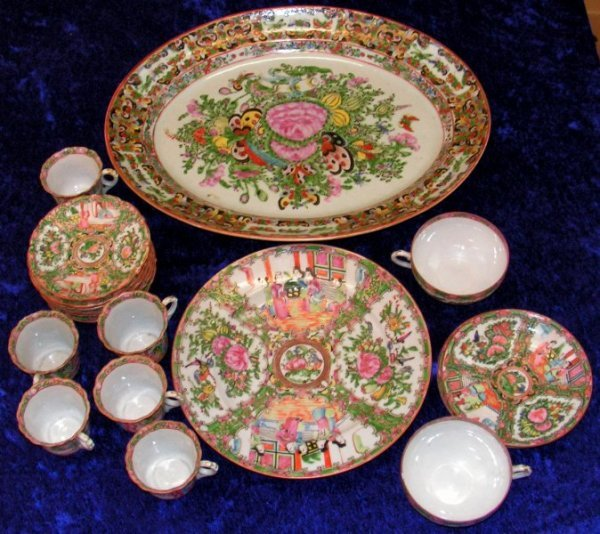 151: Vintage Chinese Imari Handpainted Porcelain China