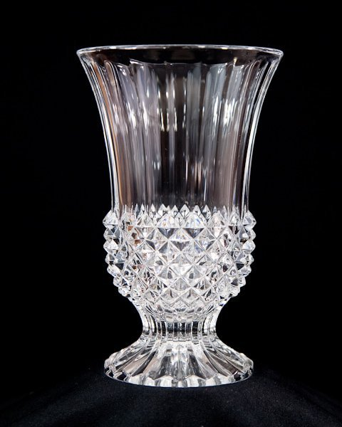 410: Cristal D'Arques Glass Vase Made In France