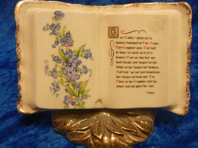 19: Ceramic Corner of California Bible Verse Book Gold