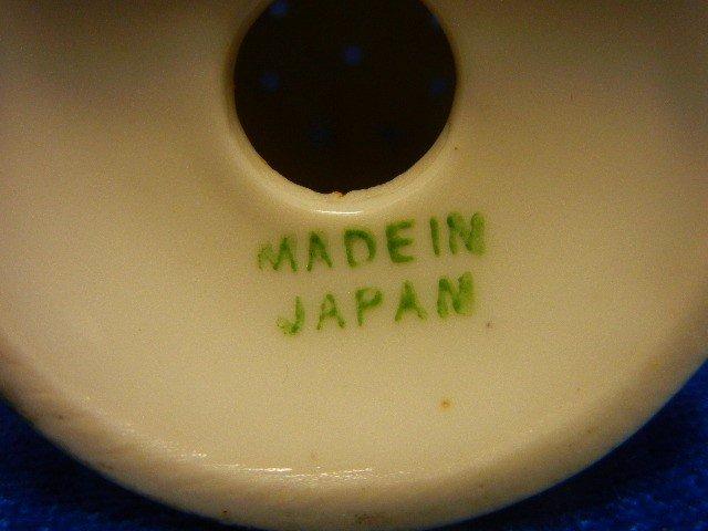 5: PORCELAIN VINTAGE JAPANESE SALT PEPPER SHAKERS - 4