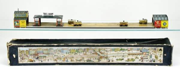 5: Early Boxed New York Subway Tin Toy