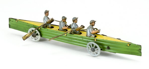 11: German Sculling Team Penny Toy