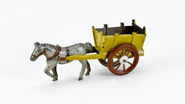 14: German Horse and Cart Penny Toy