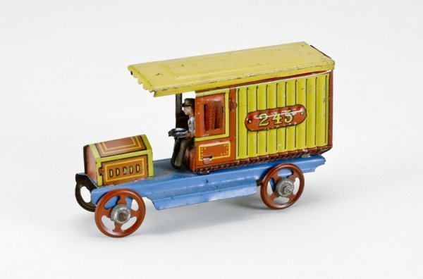 19: German Delivery Truck Penny Toy