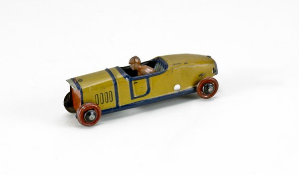 23: German Car with Driver Penny Toy