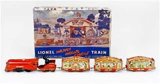 73: Lionel Mickey Mouse Circus Train in Box