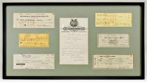 323: Yankees Baseball Players, etc. Signatures