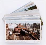 485: 59 Train Depot Postcards
