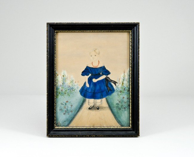 2: Early Watercolor Portrait