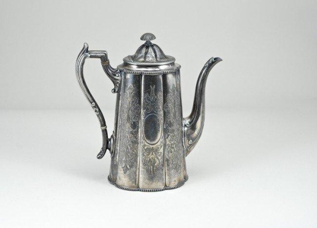 18: Sheffield Tea Pot