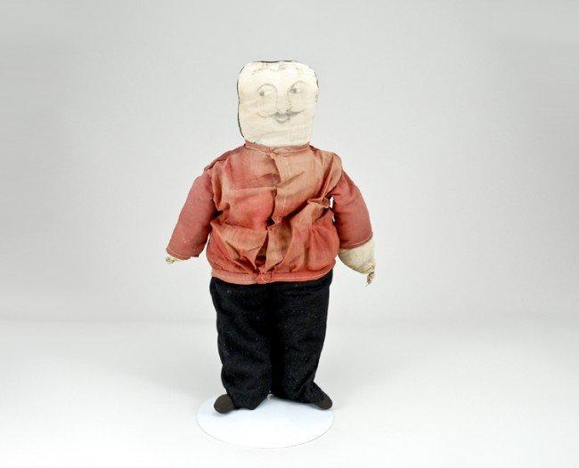 22: Early Cloth Doll