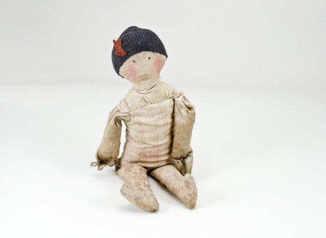 24: Early Cloth Doll