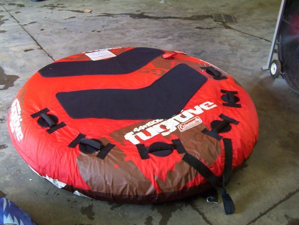 817: COLEMAN FUGITIVE TUBE (3 PERSON)