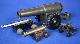 5 Miniature Cannons
