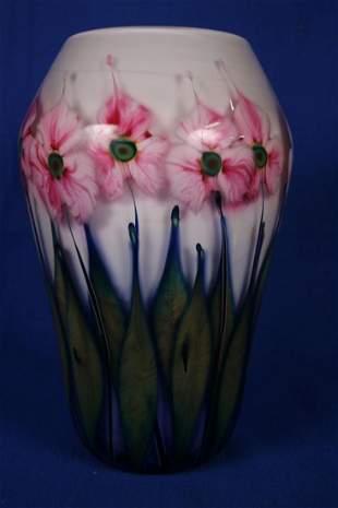 1994 John Lotton Signed Art Glass Vase