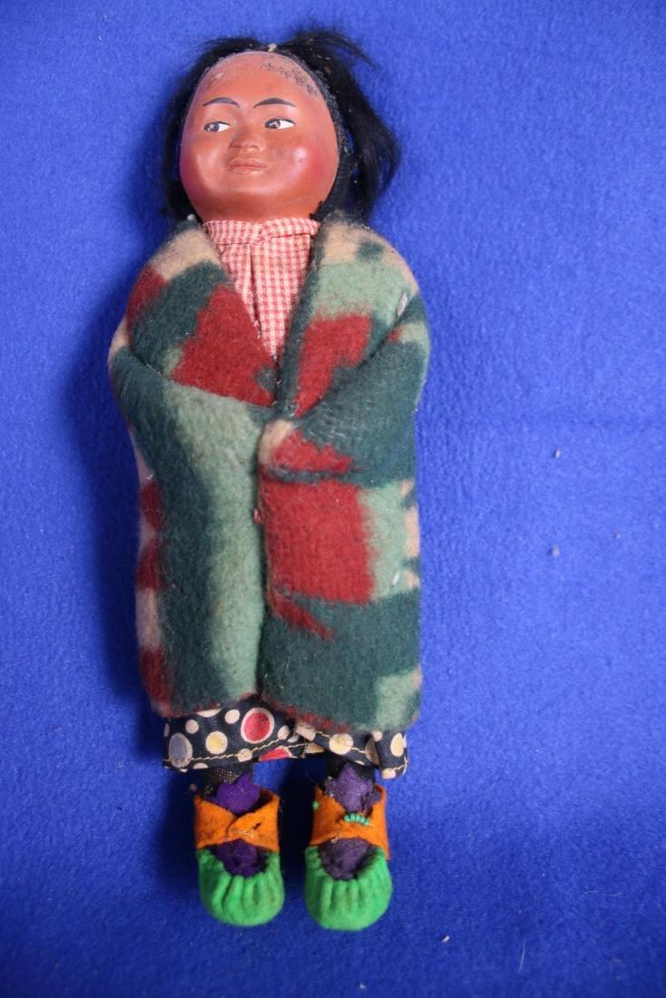 Vintage Skookum Indian Maiden Doll