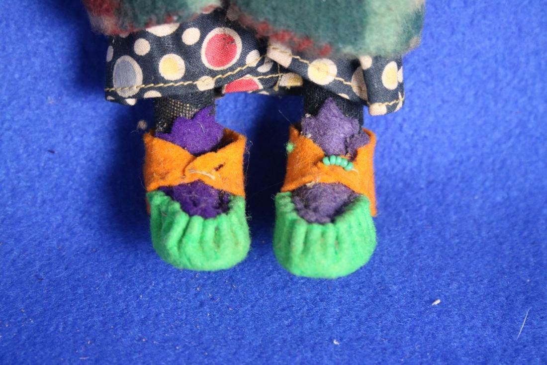 Vintage Skookum Indian Maiden Doll - 3