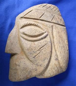 Stone Indian Head