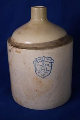 Uhl Stoneware Shoulder Jug