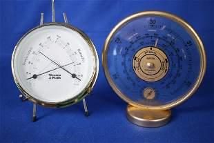 2 Brass Barometers