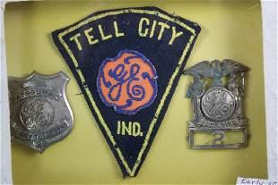 2 GE Badges & 1 GE Patch