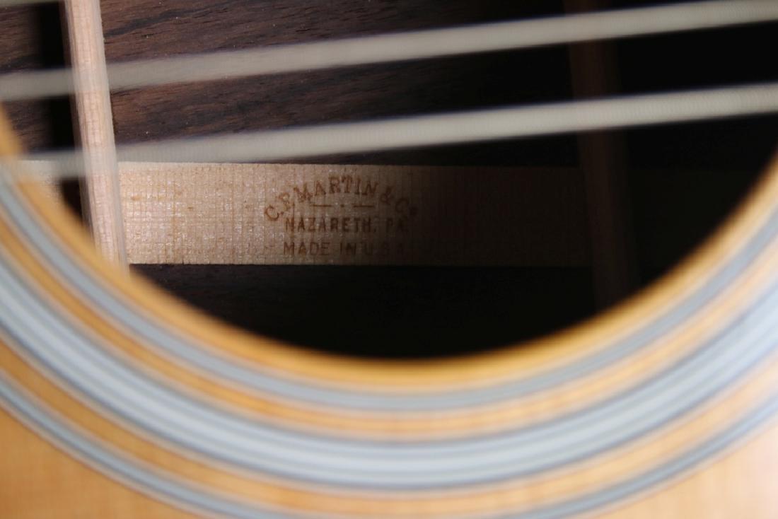 C. F. Martin & Co. Acoustic Guitar w/case - 6