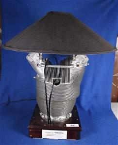 Military P47 Thunderbolt Aviation Lamp w/shade