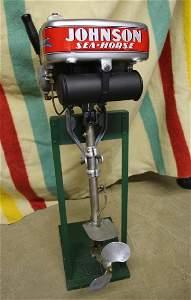 Vintage Johnson Sea Horse F70 Outboard Motor