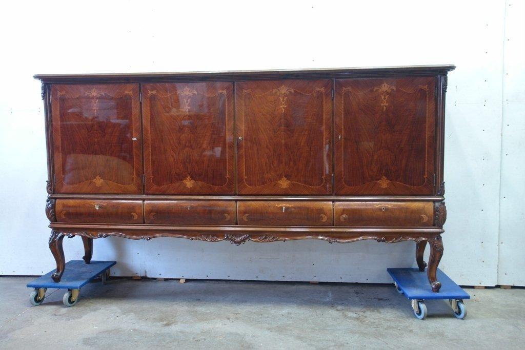 1: Inlaid French Walnut Sideboard