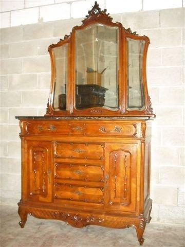 11: Marble Top Antique Dresser