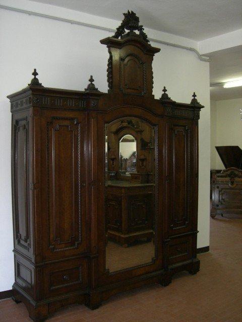 24: Monumental Victorian Armoire