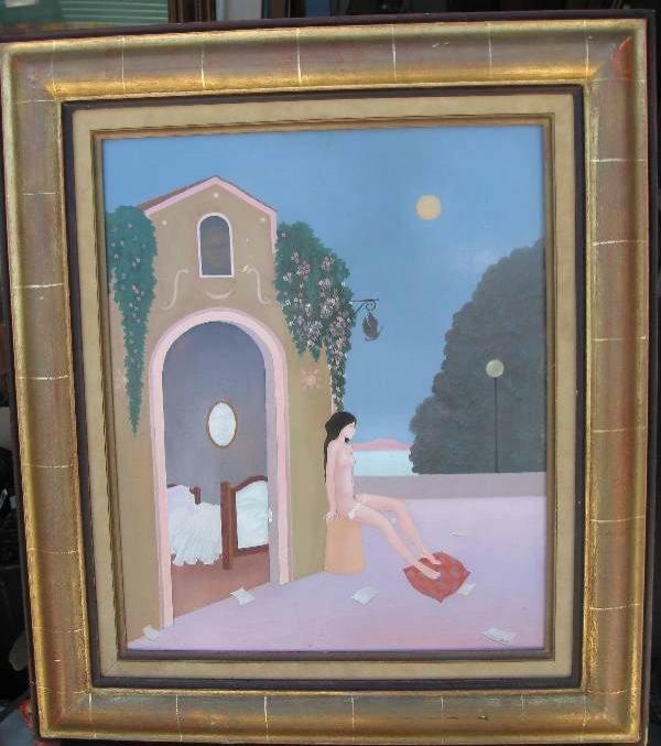 5: Painting by Georges Braem (Belgian, 1931-1998)