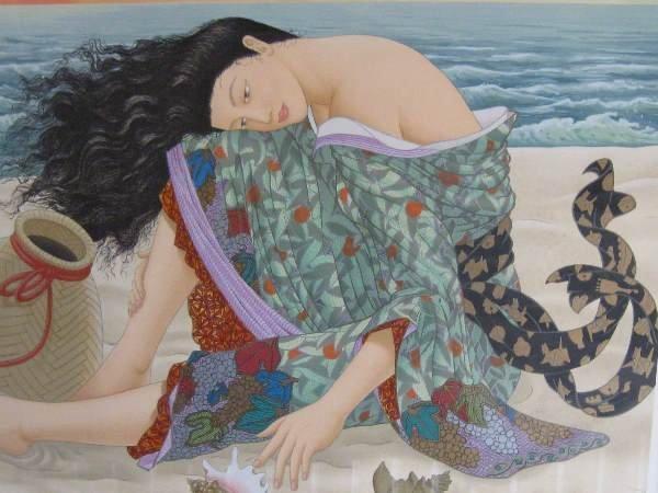 10: Original Lithograph by Muramasa Kudo (Japanese, 194