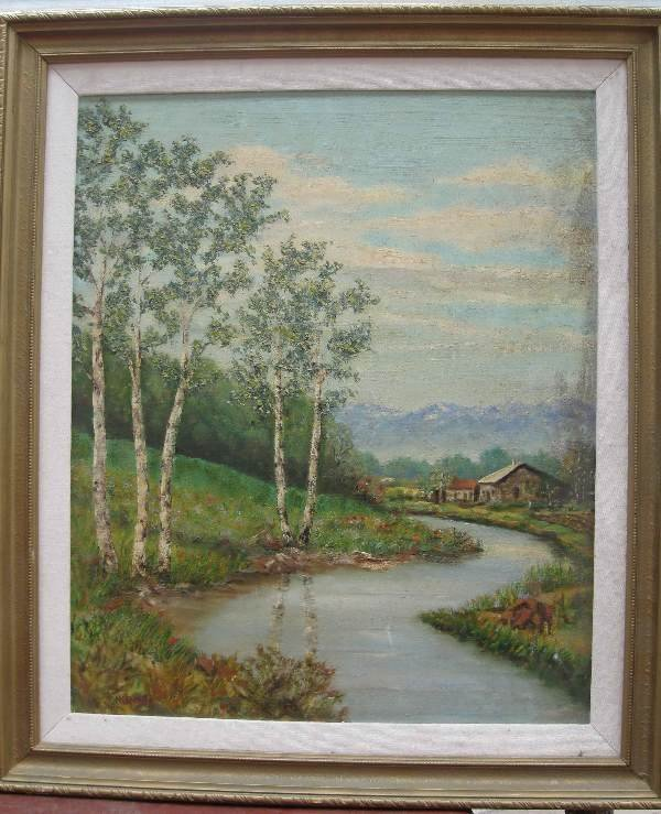 16: Painting by H. Kroner