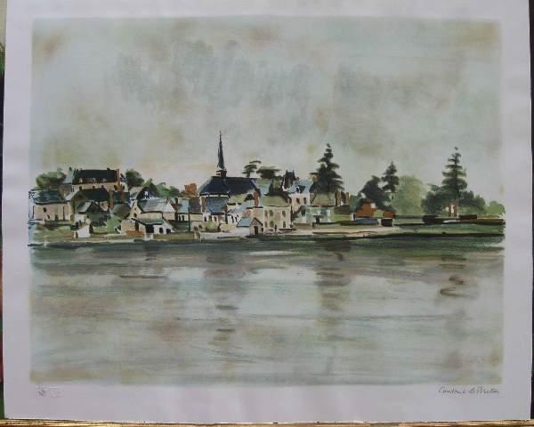 18: Original Lithograph by Constance Le Breton