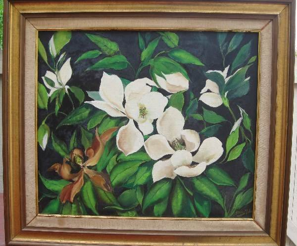 19: Painting by Elaine Malco (American, 1916-1985)