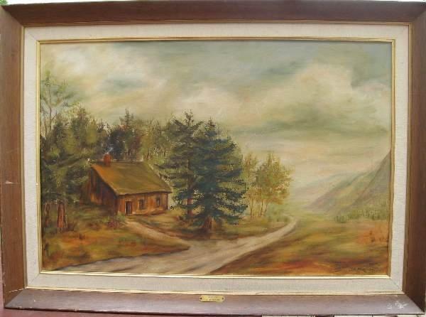 21: Painting by Ida Chapman