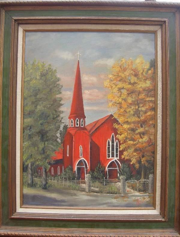 23: Painting by L. Scott (British)