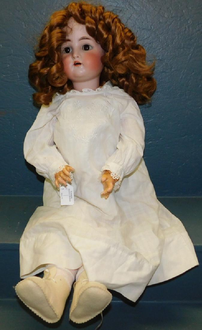 German Simon and Halbig doll marked K& R.
