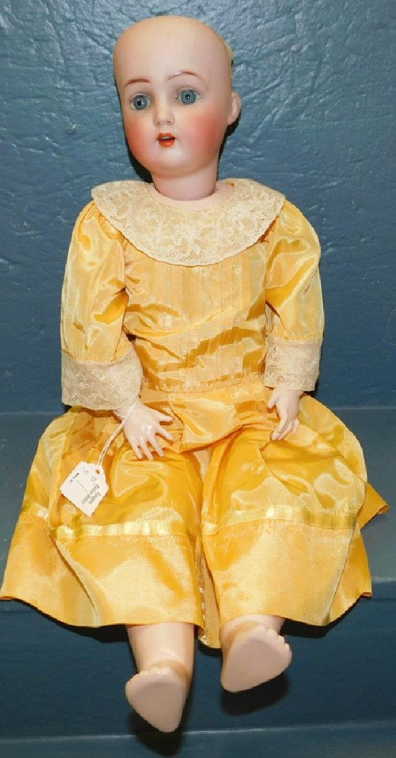 German bisque doll marked AB 1362.