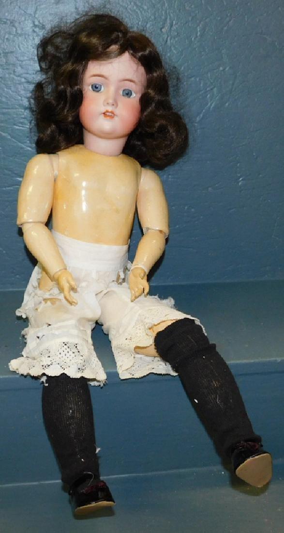 Large Berman & Halbig antique bisque head doll.