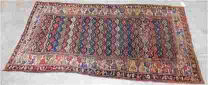 """9'5"""" x 4'5"""" antique Persian rug"""