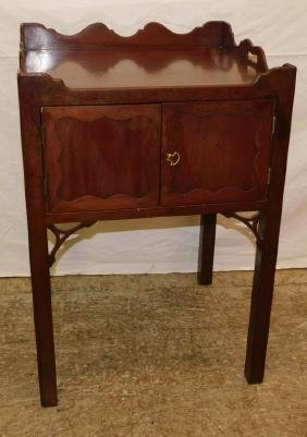 C.W. Kittinger mahogany Chippendale commode.