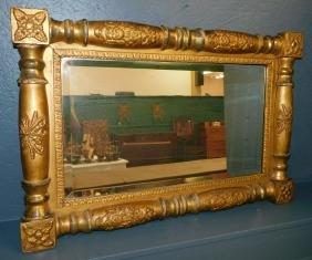 Dolly Madison gold leaf mirror.