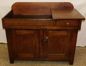Pennsylvania primitive dry sink.